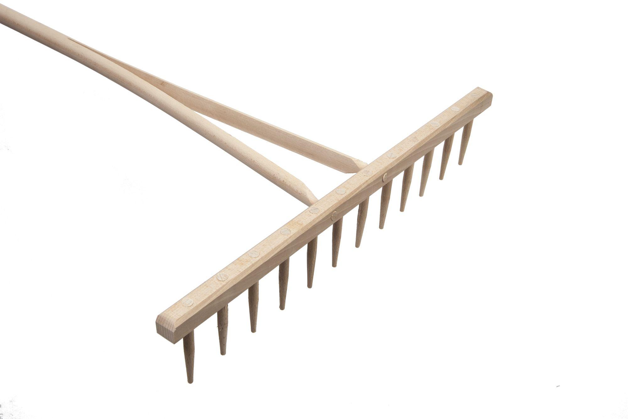 Grabie drewniane 16 zębów. EXPORT.
