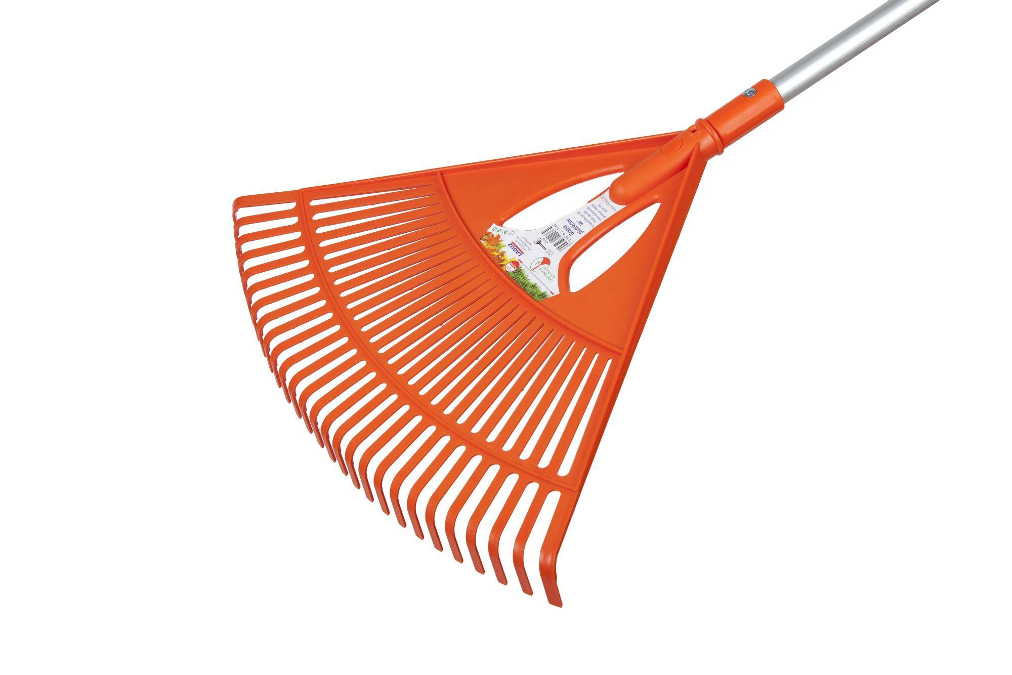Грабли пластиковые KLIK 580 мм (рукоять продается отдельно)