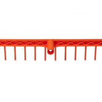 Грабли пластиковые KLIK с 12-ю зубьями (рукоять продается отдельно)